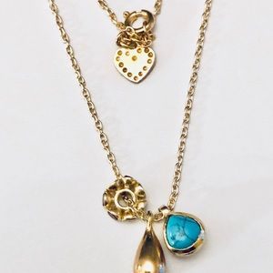 Stella & Dot Necklace with3 Pendants